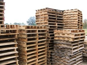 Wood Pallets Help Keep the World Moving