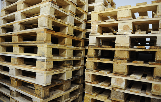 Importing and Exporting With Wooden Pallets
